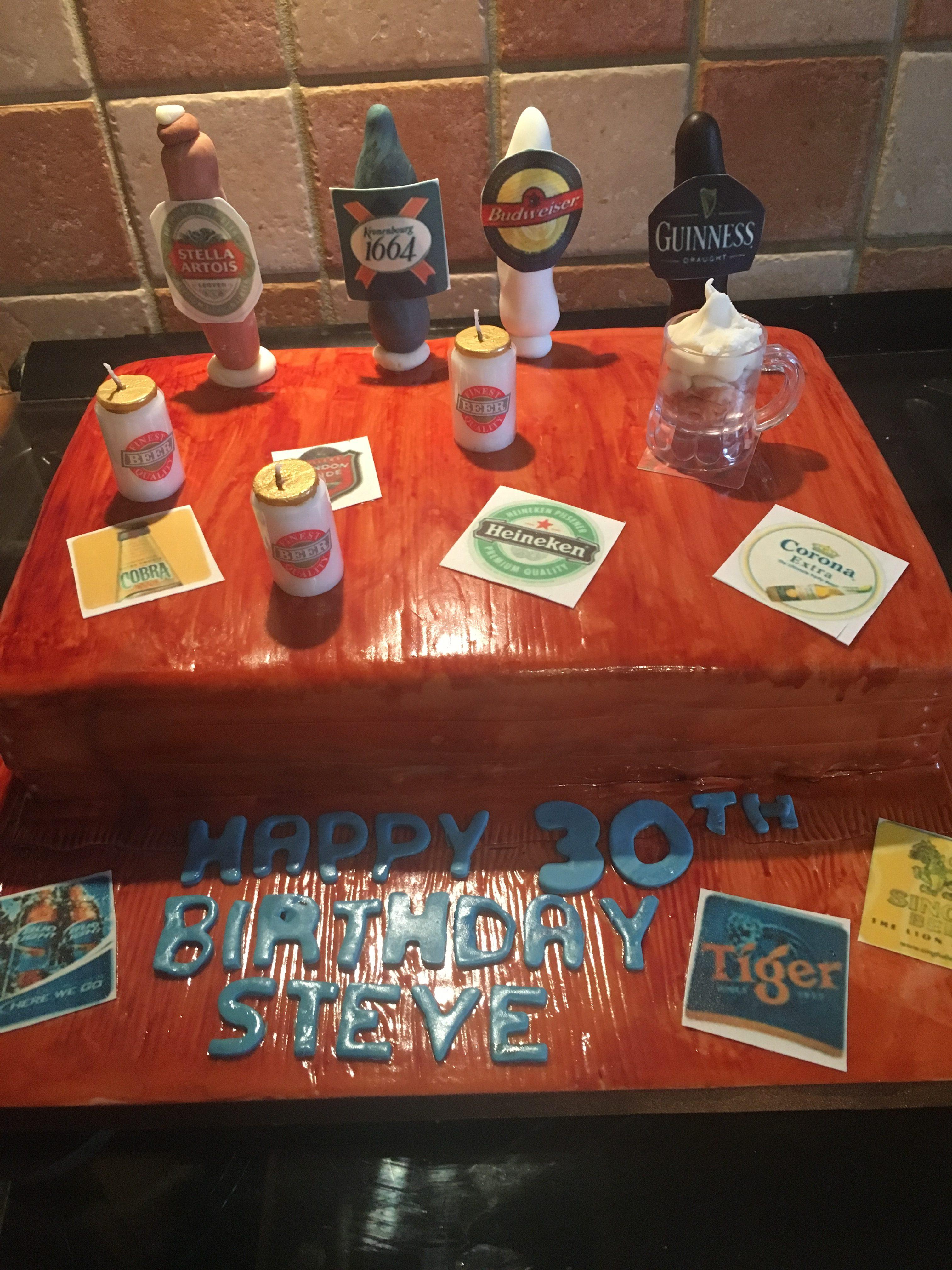 Cheers Birthday cake