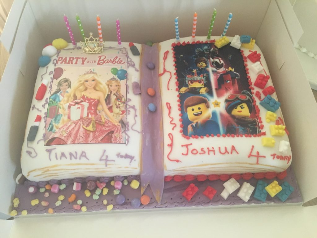 Outstanding Celebration Cakes Gallery Barbara Janes Cakery Personalised Birthday Cards Veneteletsinfo